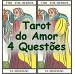 Tarot do Amor 4 questoes